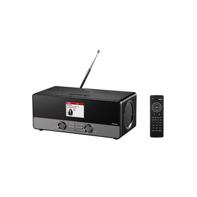 Internetový rádioprijímač Hama DIR3100 DAB+ čierny + Doprava zadarmo