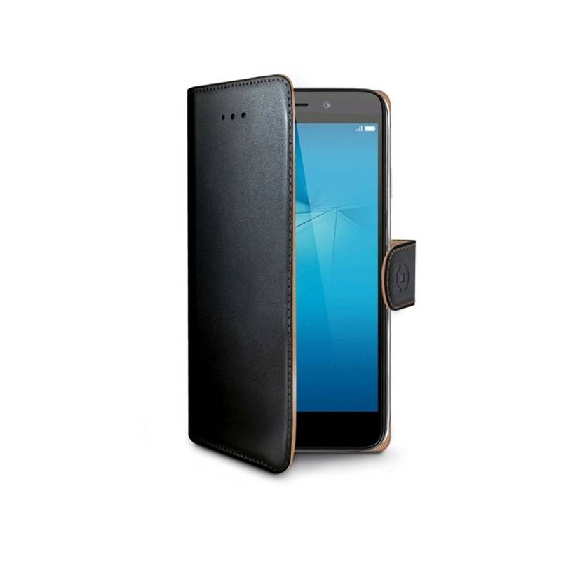 Puzdro na mobil flipové Celly Wally pro Honor 5C/7 Lite/GT3 (WALLY588) čierna farba