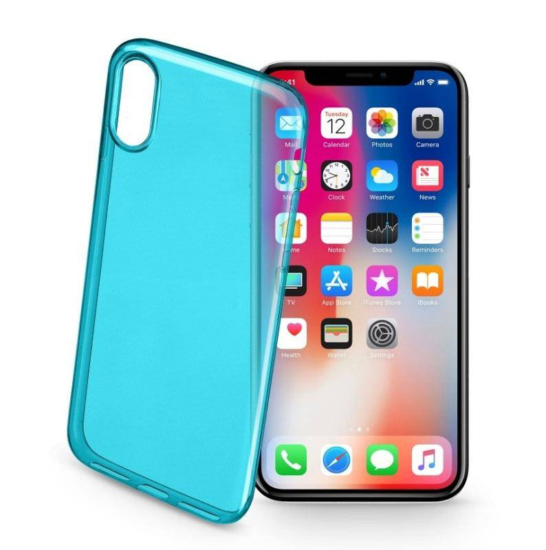 Kryt na mobil CellularLine pro Apple iPhone X (444991) zelený