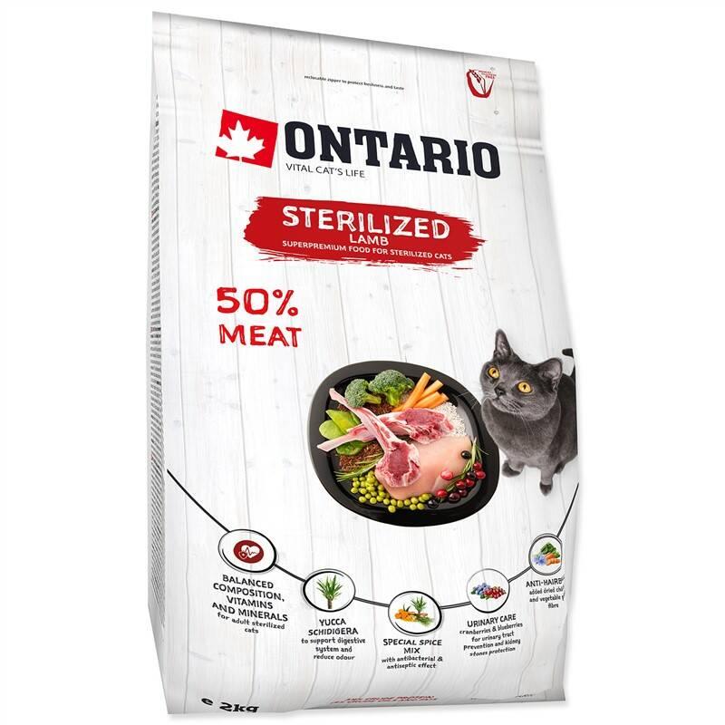 Granuly Ontario Cat Sterilised Lamb 2kg