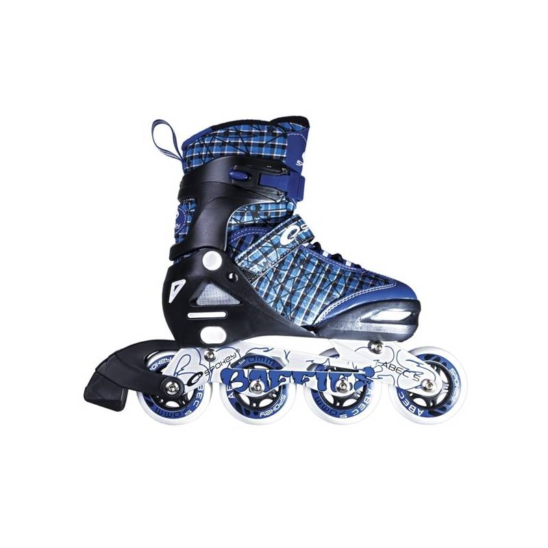 Kolieskové korčule Spokey BAFFIES velikost 31-34 modré + Doprava zadarmo