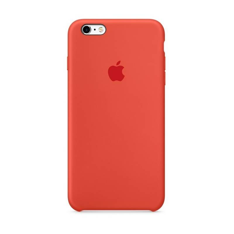 Kryt na mobil Apple Silicone Case pro iPhone 6S Plus - Orange (MKXQ2ZM/A)