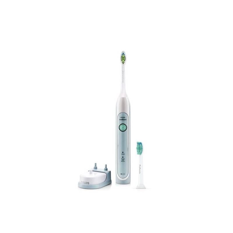 Zubná kefka Philips Sonicare HealthyWhite HX6712/43 biely/zelený + Doprava zadarmo