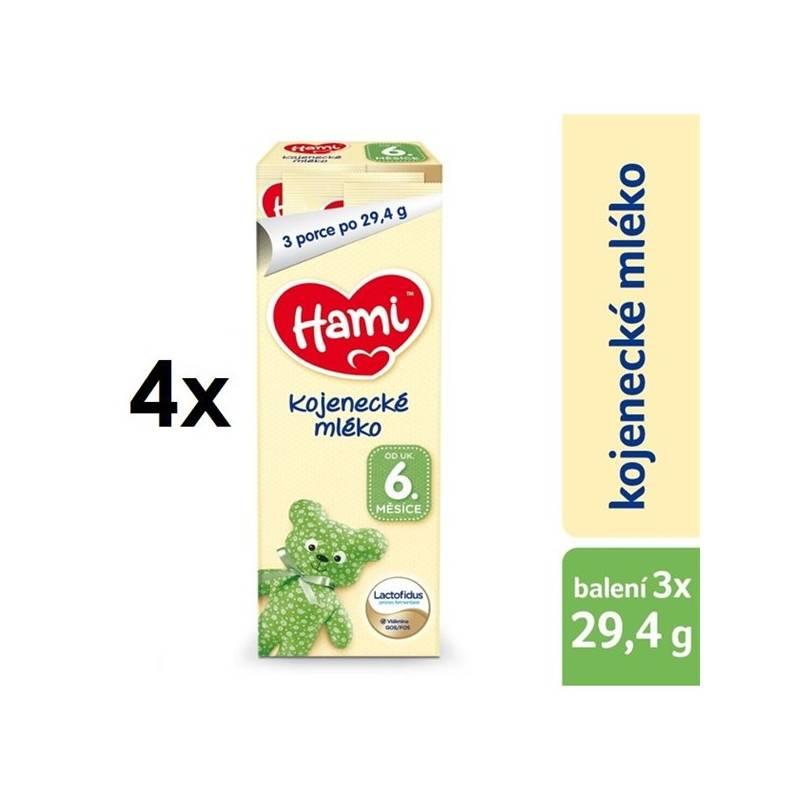Dojčenské mlieko Hami od ukončeného 6. měsíce, (3 x 29,4 g) x 4ks, zkušební balení + Doprava zadarmo