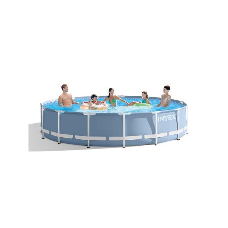 Bazén Intex Prism Frame průměr 4,57 x 0,84m (26728NP) + Doprava zadarmo