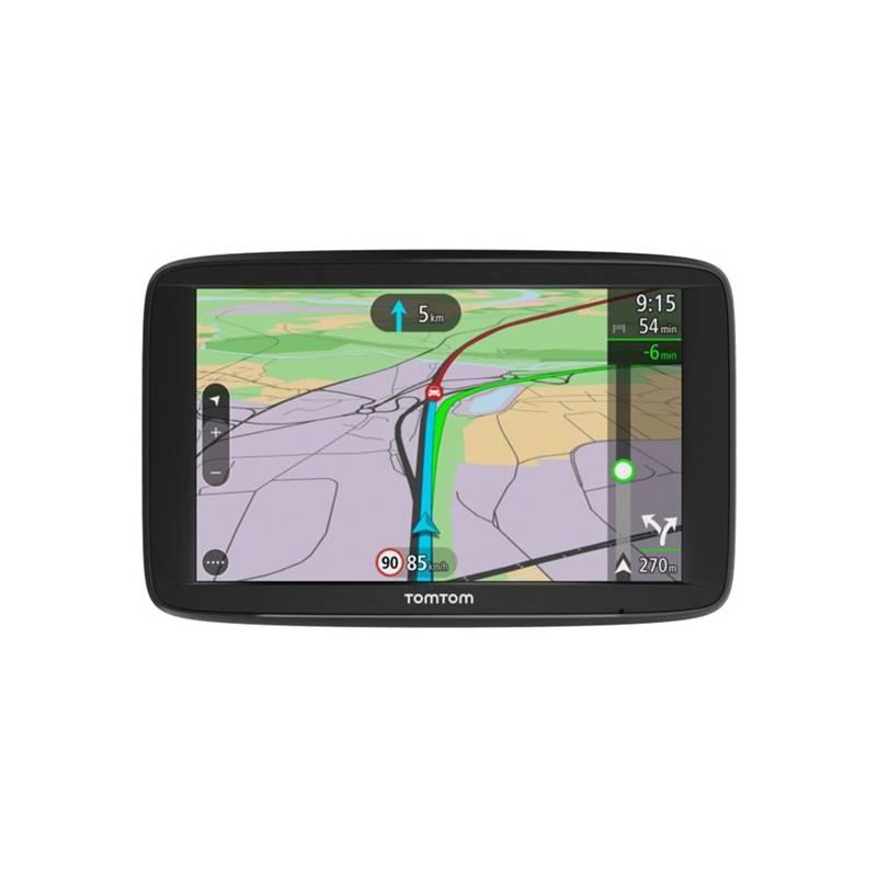 Navigačný systém GPS Tomtom VIA 62 Europe LIFETIME mapy (1AP6.002.00) čierna