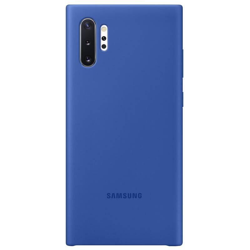 Kryt na mobil Samsung Silicon Cover pro Galaxy Note10+ (EF-PN975TLEGWW) modrý
