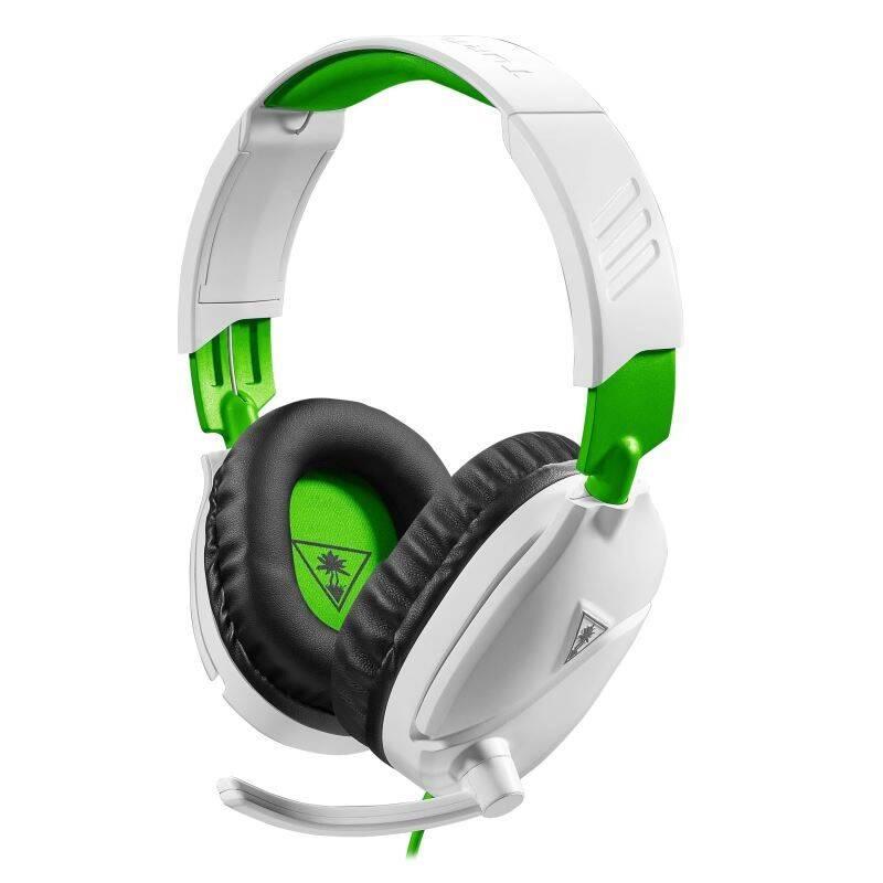 Headset Turtle Beach Recon 70X pro Xbox One, PS4, Nintendo (TBS-2455-02) biely