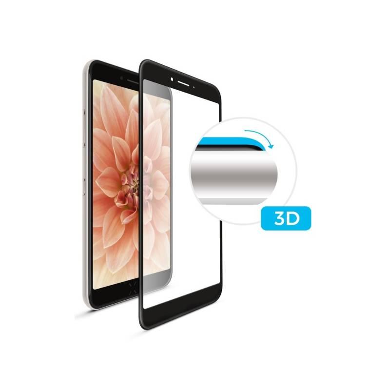 Ochranné sklo FIXED 3D Full-Cover pro Samsung Galaxy A3 (2017) (FIXG3D-157-BK) čierne