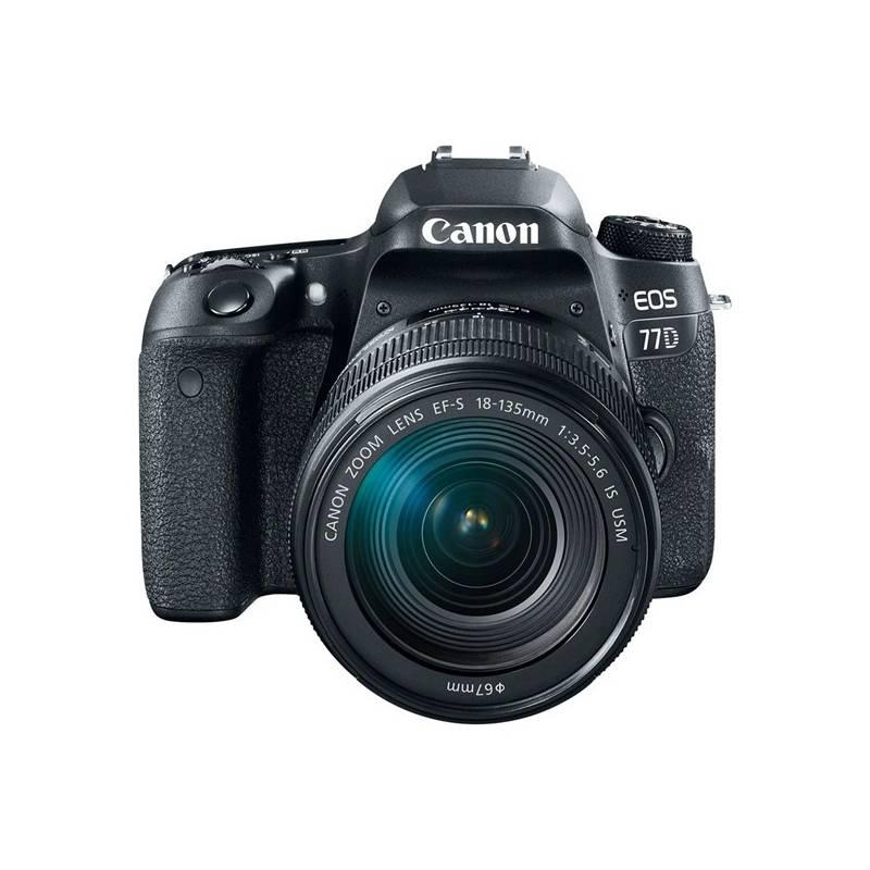 Digitálny fotoaparát Canon EOS 77D + 18-55 IS STM (1892C017AA) čierny + Doprava zadarmo