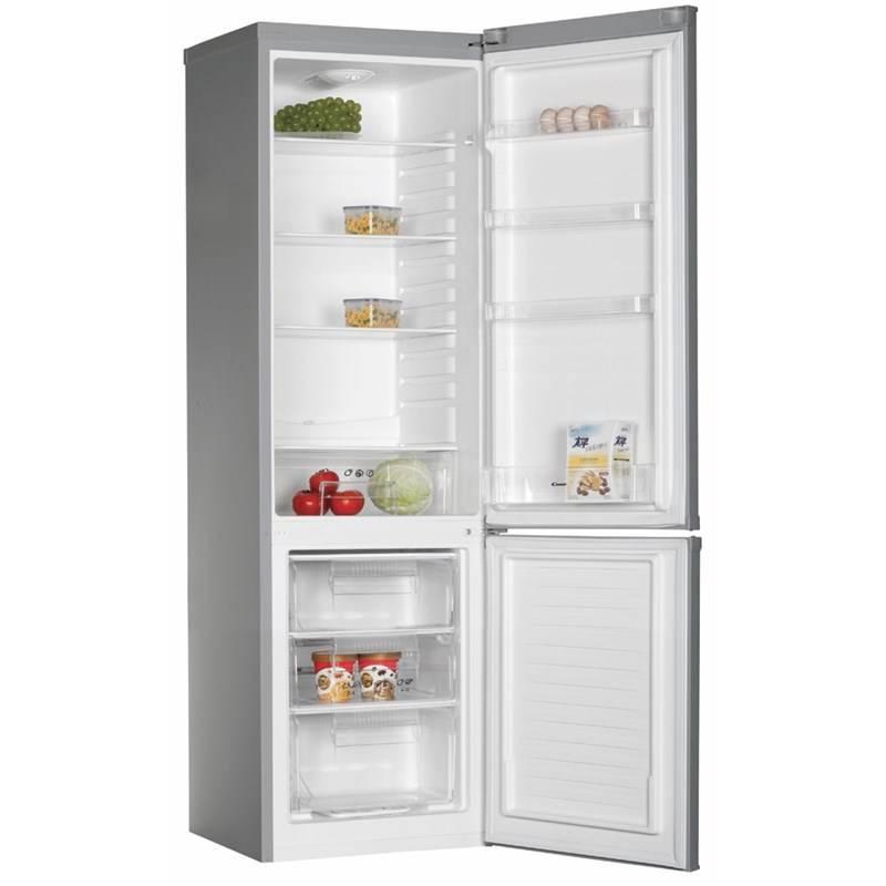 Chladnička s mrazničkou Candy X 5433 CM nerez