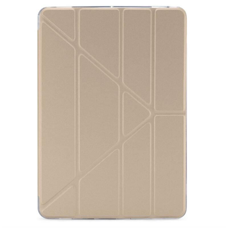 "Púzdro na tablet Pipetto Origami pro Apple iPad 10,2"" (2019) zlaté"