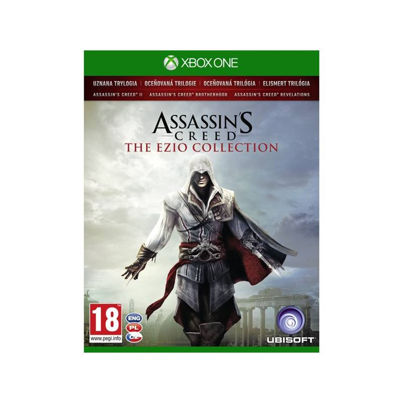 Hra Ubisoft Xbox One Assassin's Creed The Ezio Collection (USX300280) + Doprava zadarmo
