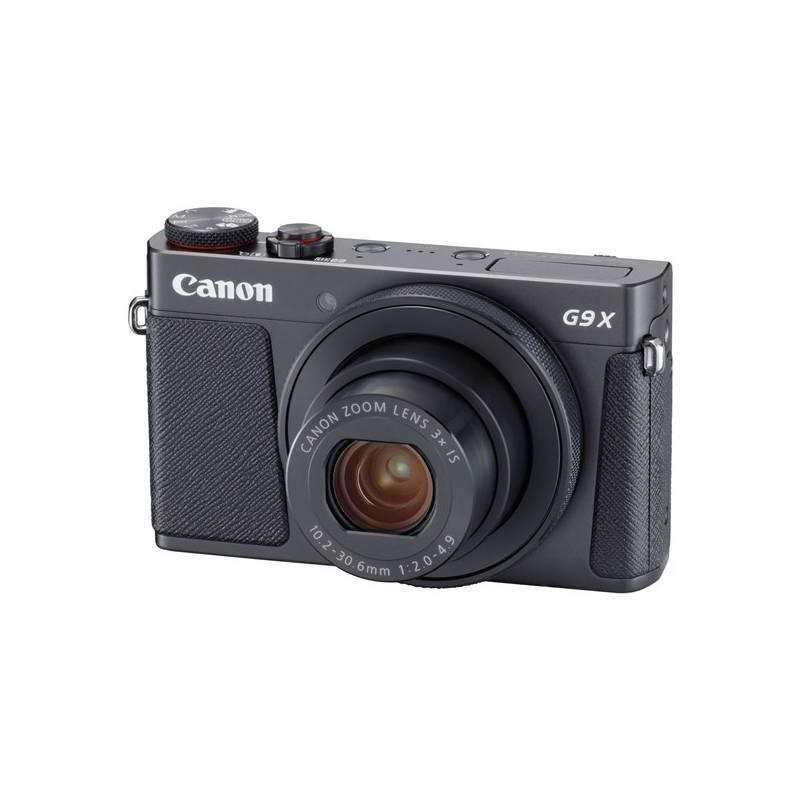 Digitálny fotoaparát Canon PowerShot PowerShot G9 X Mark II Black (1717C002) čierny + Cashback 30 € + Doprava zadarmo