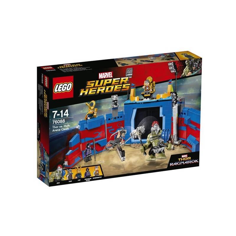 Stavebnica LEGO® SUPER HEROES 76088 Thor vs. Hulk: Souboj v aréně