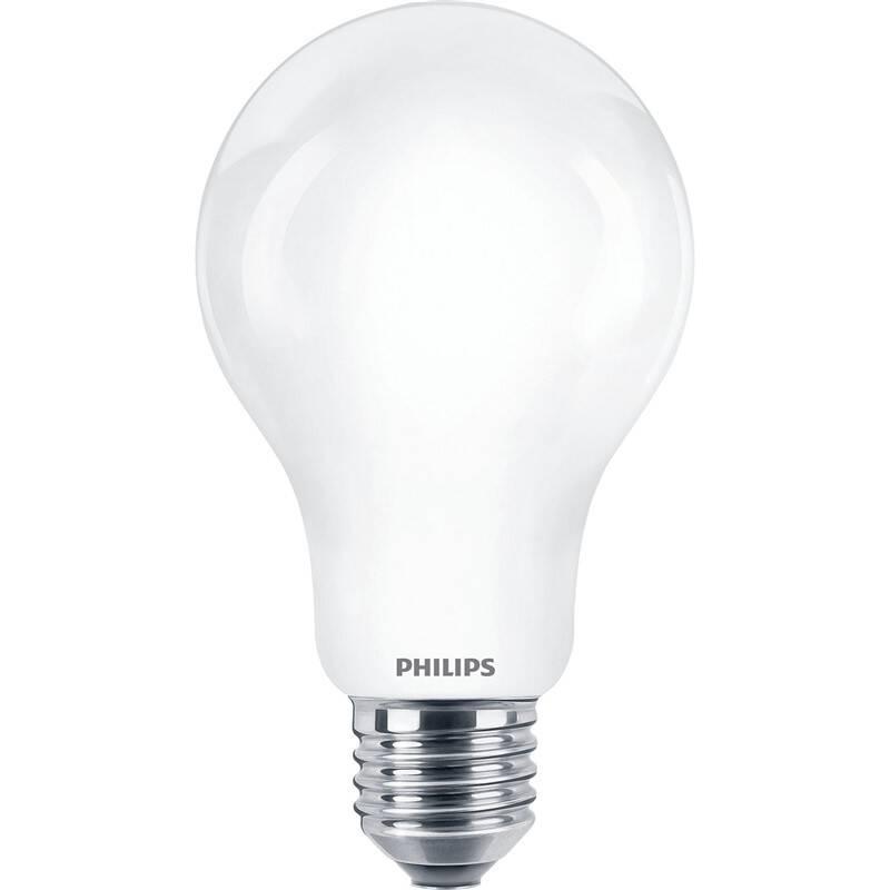LED žiarovka Philips klasik, 13W, E27, teplá bílá (8718699764517)