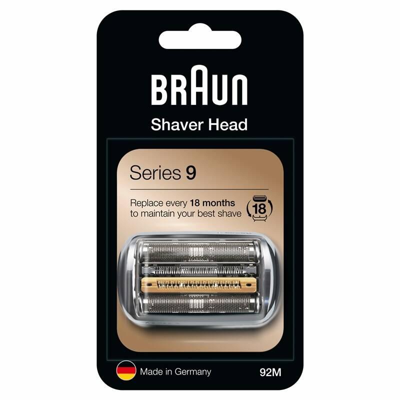 Príslušenstvo pre holiace strojčeky Braun Series 9 Combipack 92M Mat silver + Doprava zadarmo
