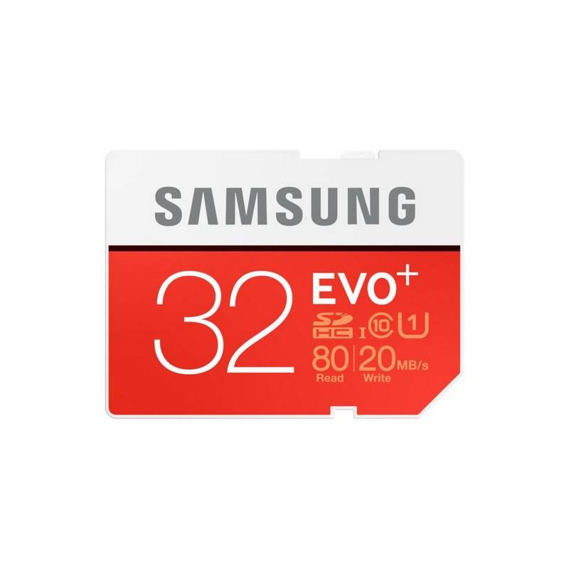 Pamäťová karta Samsung SDHC EVO+ 32GB UHS-I U1 (80R/20W) (MB-SC32D/EU)
