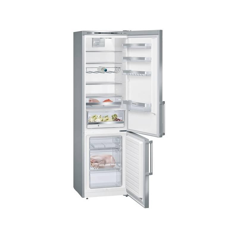 Kombinácia chladničky s mrazničkou Siemens KG39E6L4P Inoxlook + Doprava zadarmo