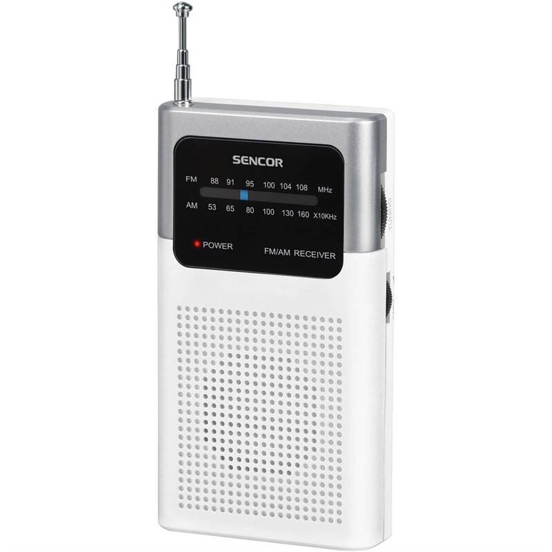 Radiopřijímač Sencor SRD 1100 W bílý