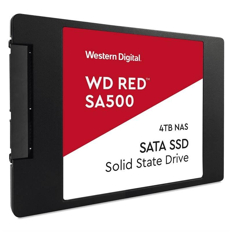 SSD Western Digital RED SA500 2,5'' 4TB (WDS400T1R0A)