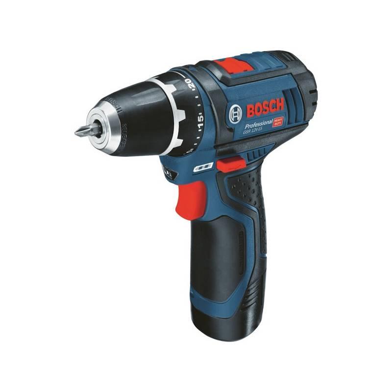 Aku vŕtačka Bosch GSR 12V-15, 0601868122