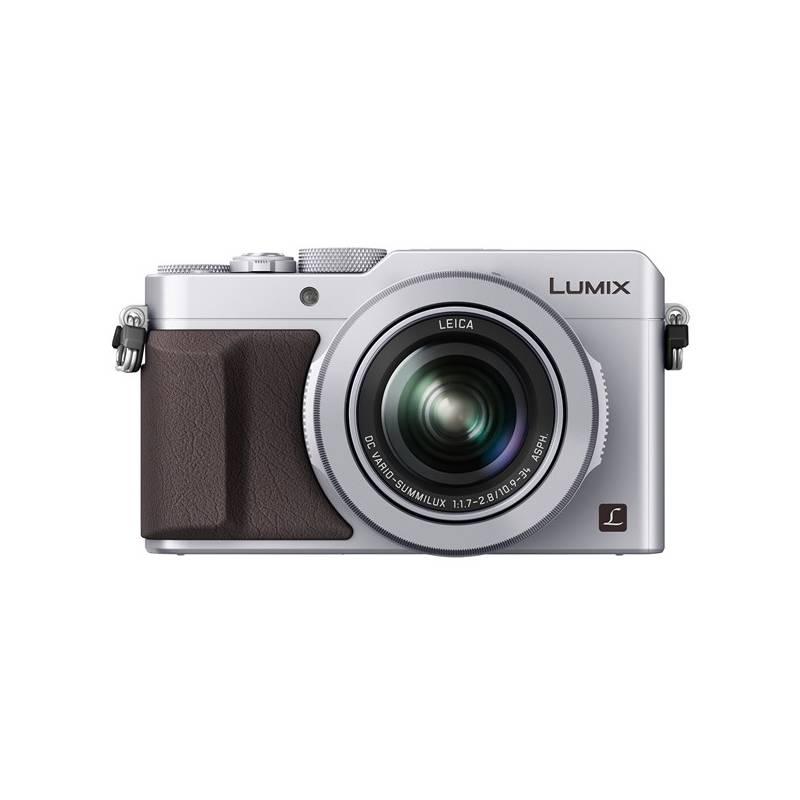 Digitální fotoaparát Panasonic Lumix DMC-LX100EPS stříbrný
