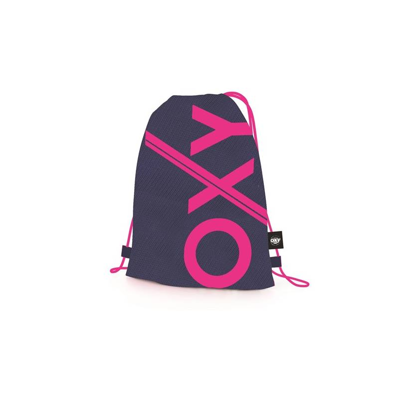 Vak na chrbát P + P Karton OXY Sport Blue Line Pink + Doprava zadarmo