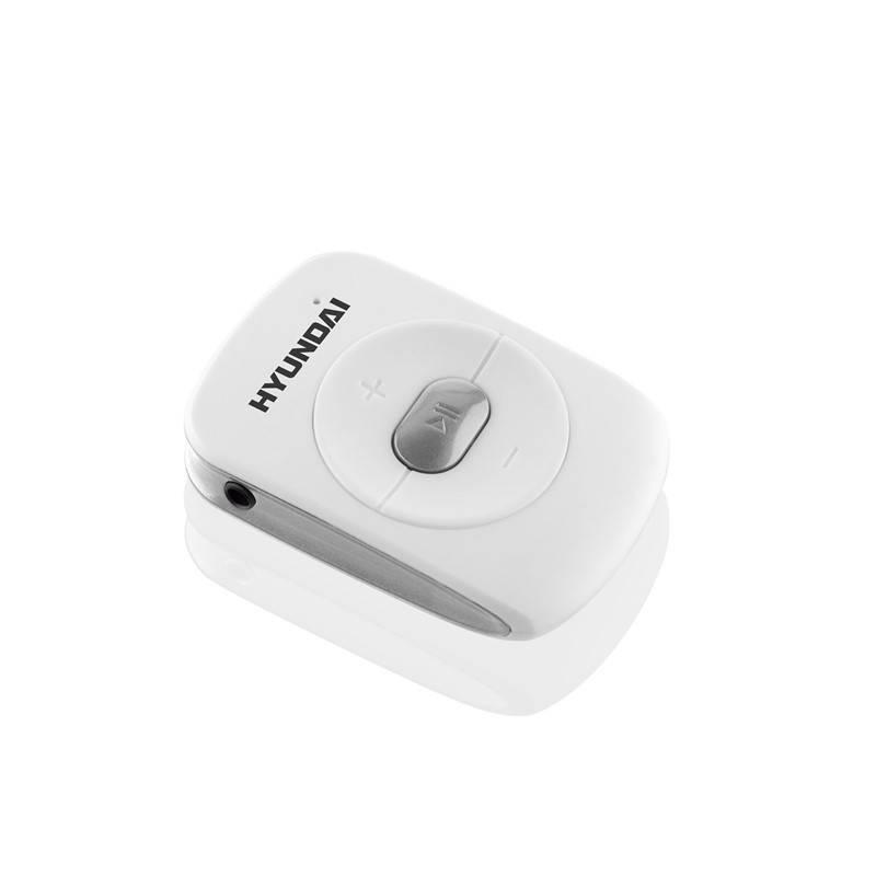 MP3 přehrávač Hyundai MP214GB4WS stříbrný/bílý