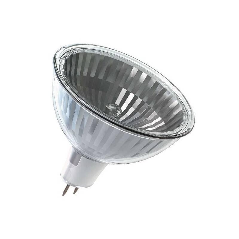 Halogénová žiarovka EMOS bodová, 28W, GU5.3, teplá bílá (ECMR16-28)