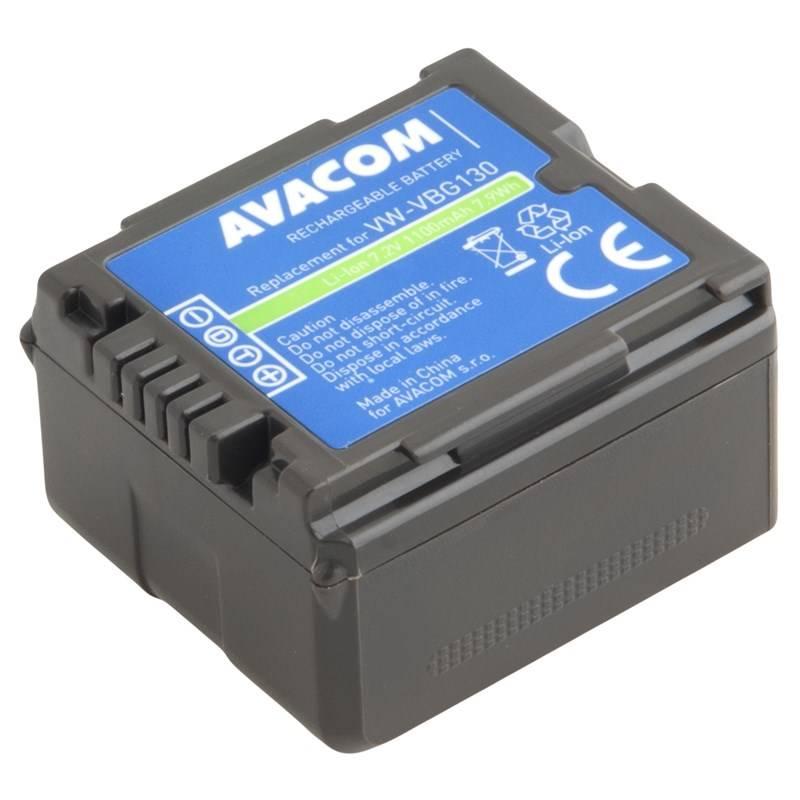 Batéria Avacom Panasonic VW-VBG130, DMW-BLA13 Li-Ion 7.2V 1100mAh 7.9Wh (VIPA-G130-B1100)