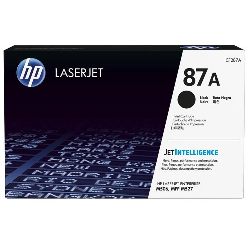 Toner HP 87A, 9000 stran (CF287A) čierny + Doprava zadarmo