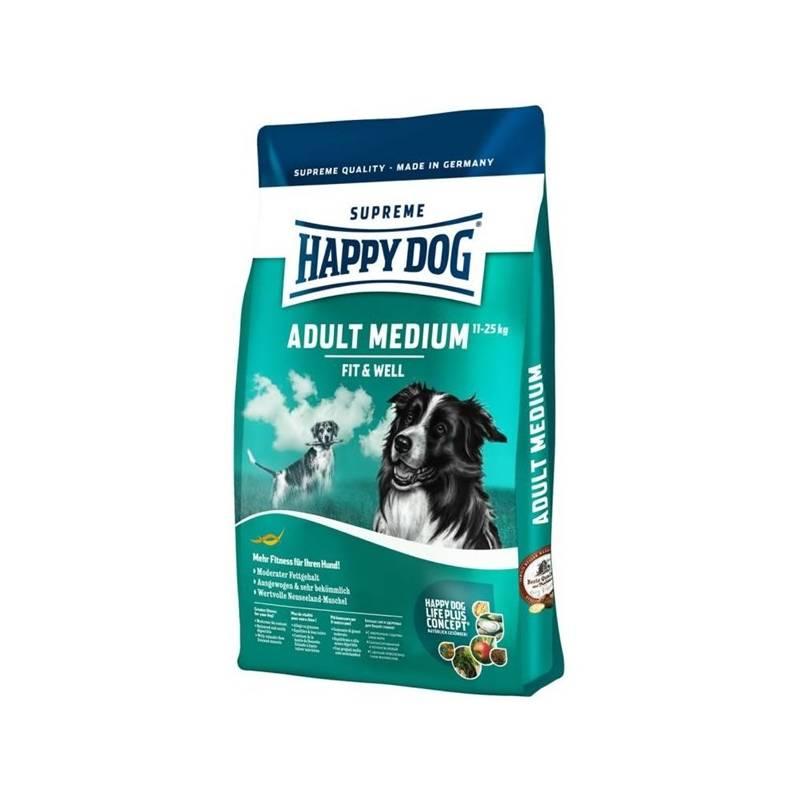 sucha karma happy dog medium adult 12 5 kg dla doros ych ps w. Black Bedroom Furniture Sets. Home Design Ideas