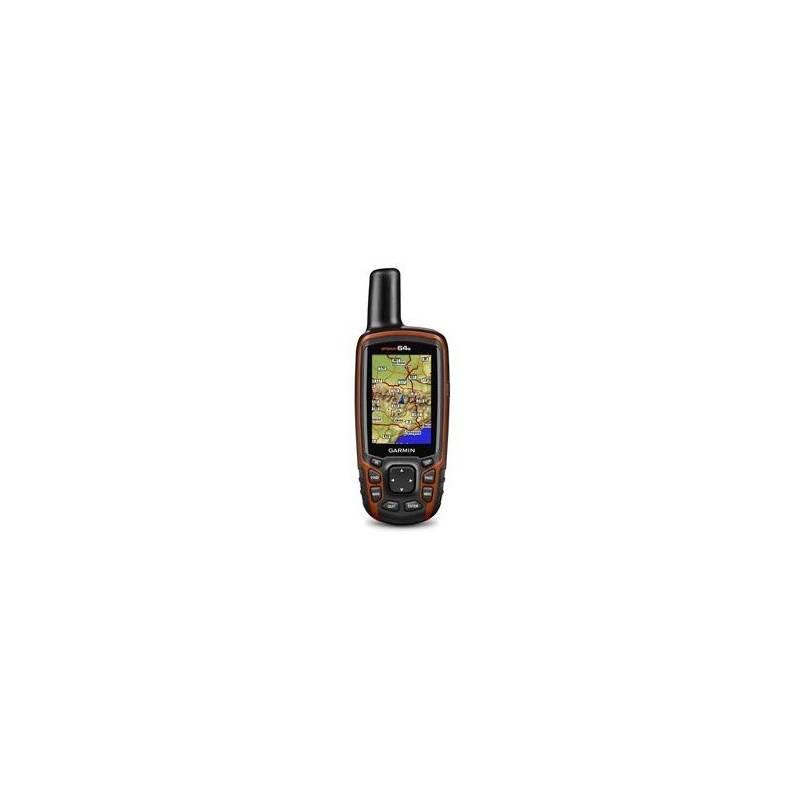 Navigačný systém GPS Garmin GPSmap 64s + SK TOPO (010-01199-10) čierna/oranžová + Doprava zadarmo