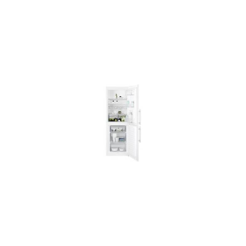 Kombinácia chladničky s mrazničkou Electrolux EN3201MOW biela
