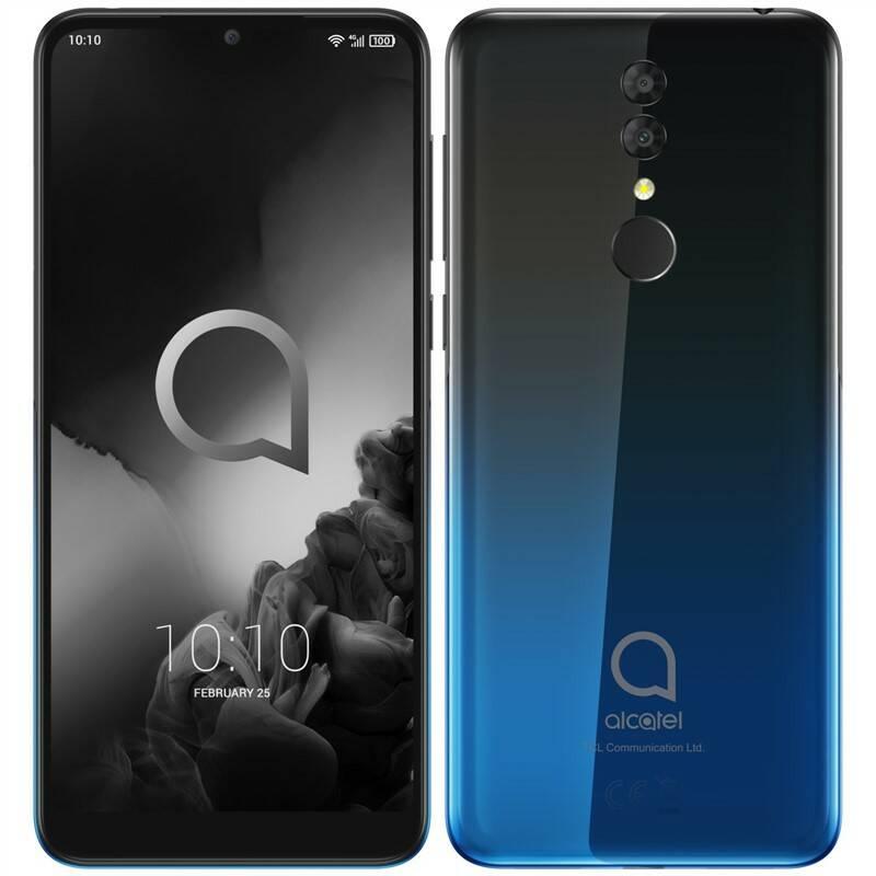 Mobilní telefon ALCATEL 3 (5053K) (5053K-2AALE12) černý/modrý