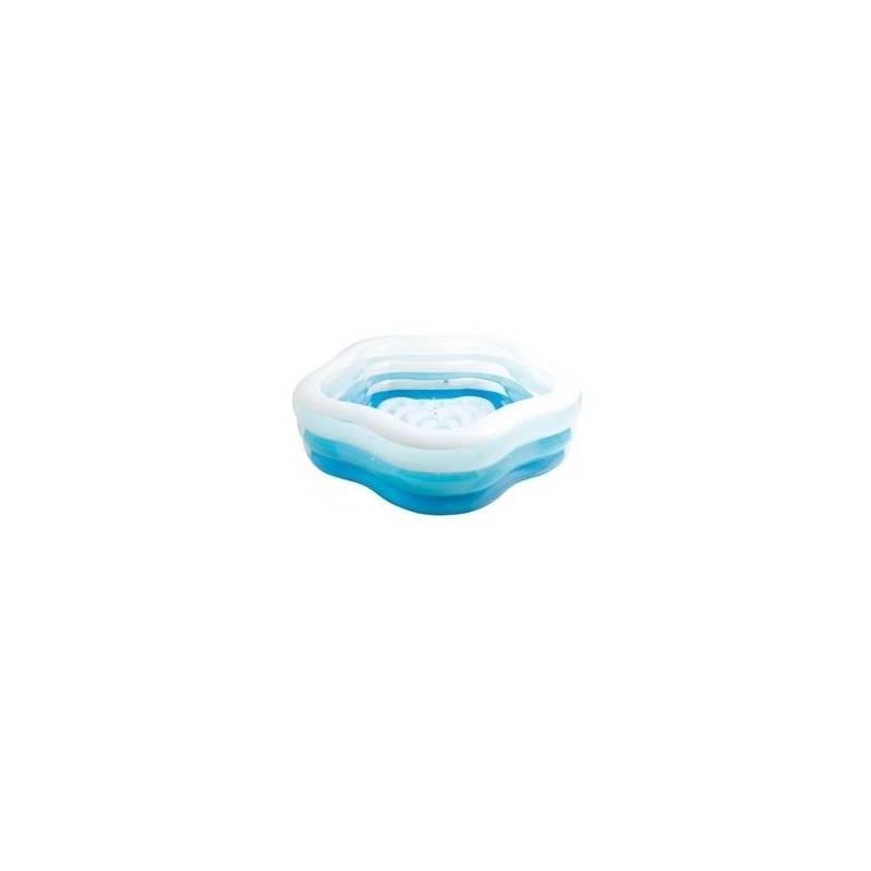 Bazén Intex Summer Colors Pool 1,85 x1,8 x 0,53 m, tvar hvězdice, 156495NP (56495NP)