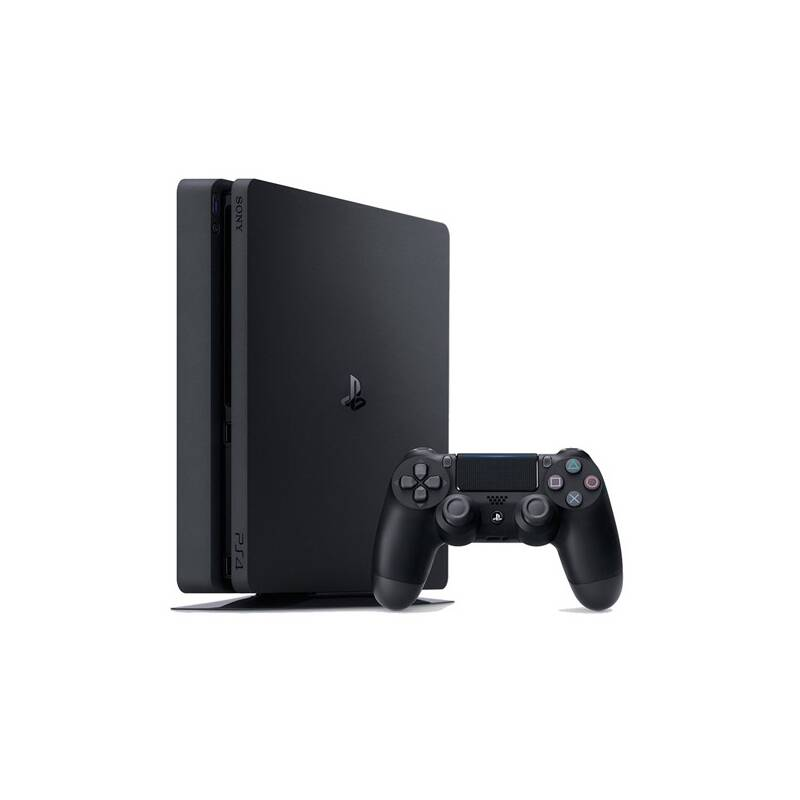 Herná konzola Sony PlayStation 4 SLIM 500GB (PS719866268) čierna