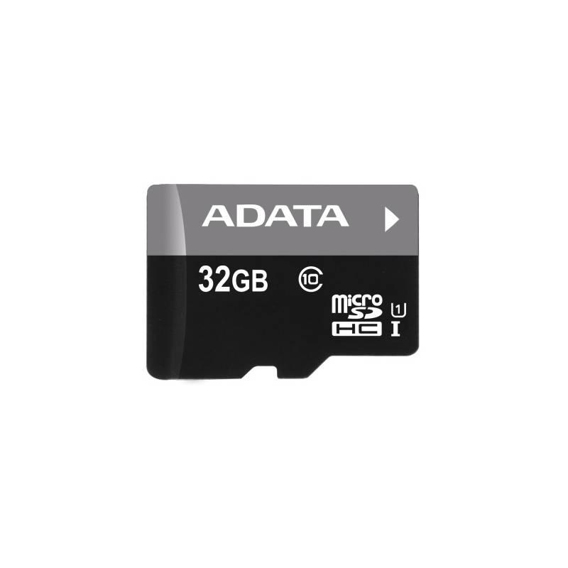 Pamäťová karta ADATA 32GB Class 10 UHS-U1 (50R/10W) + čtečka MicroReader Ver.3 (AUSDH32GUICL10-RM3BKBL) čierna