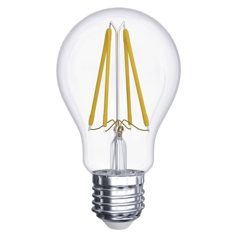 LED žiarovka EMOS klasik, 11W, E27, teplá bílá (Z74282)