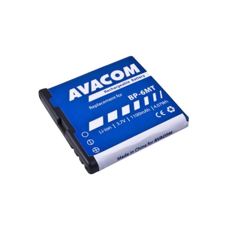 Batéria Avacom pro Nokia E51, N81, N81 8GB, N82, Li-Ion 1100mAh (náhrada BP-6MT) (GSNO-BP6MT-S1100A)