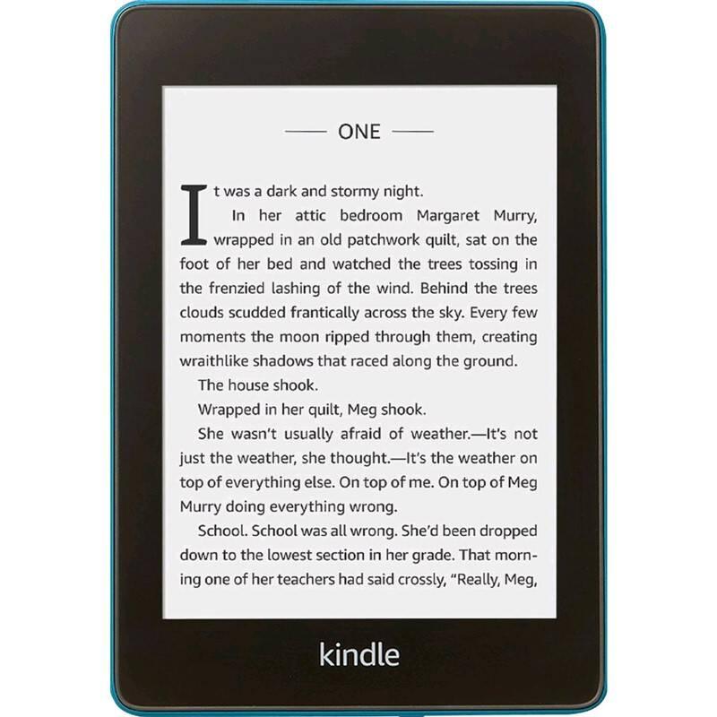 Čítačka kníh Amazon Kindle Paperwhite 4 2018 s reklamou (EBKAM1151 ) modrá + Doprava zadarmo