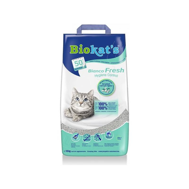 Podstielky Gimpet Bianco Fresh 10 kg