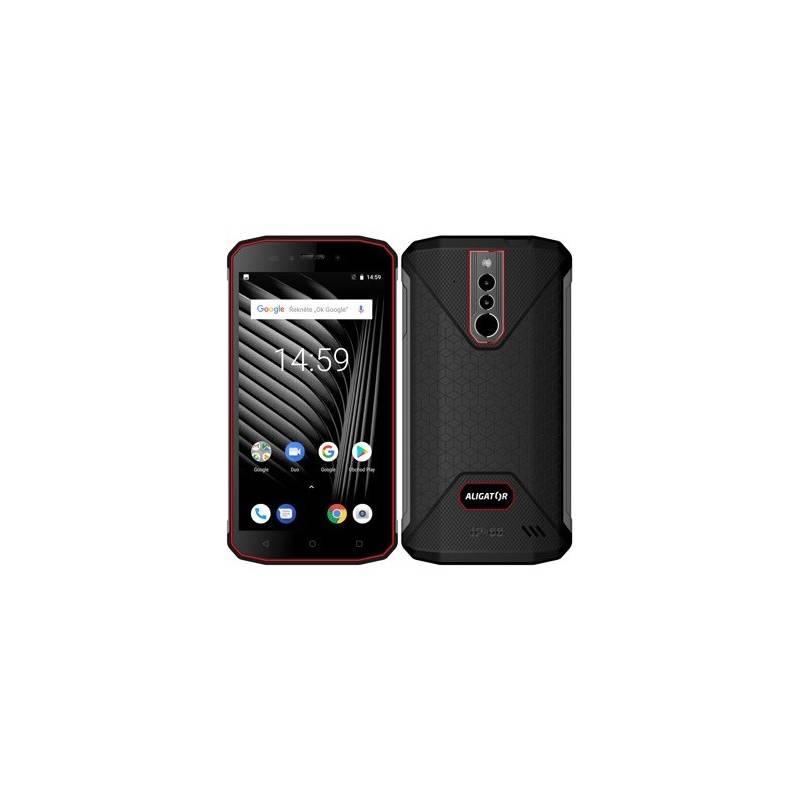 Mobilný telefón Aligator RX600 eXtremo (ARX600BR) čierny/červený + Doprava zadarmo