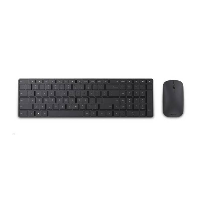 Klávesnice s myší Microsoft Designer Desktop Bluetooth 4.0, CZ/SK (7N9-00020) černá