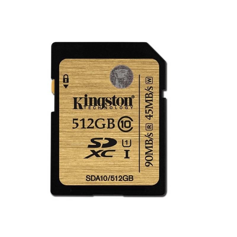 Pamäťová karta Kingston SDXC 512GB UHS-I U1 (90R/45W) (SDA10/512GB)