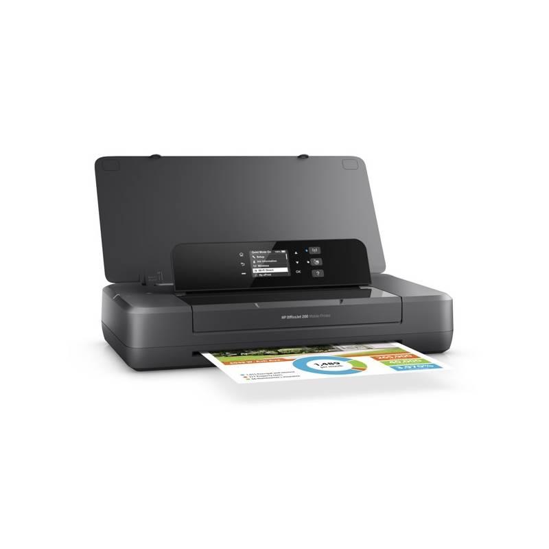 Tlačiareň atramentová HP Officejet 202 Mobile Printer (N4K99C#A82) čierna