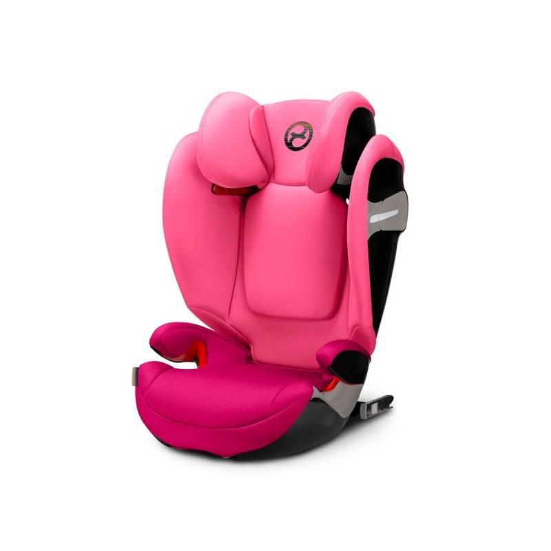 Autosedačka Cybex Solution S-fix 2018, 15-36kg, Passion Pink + Doprava zadarmo