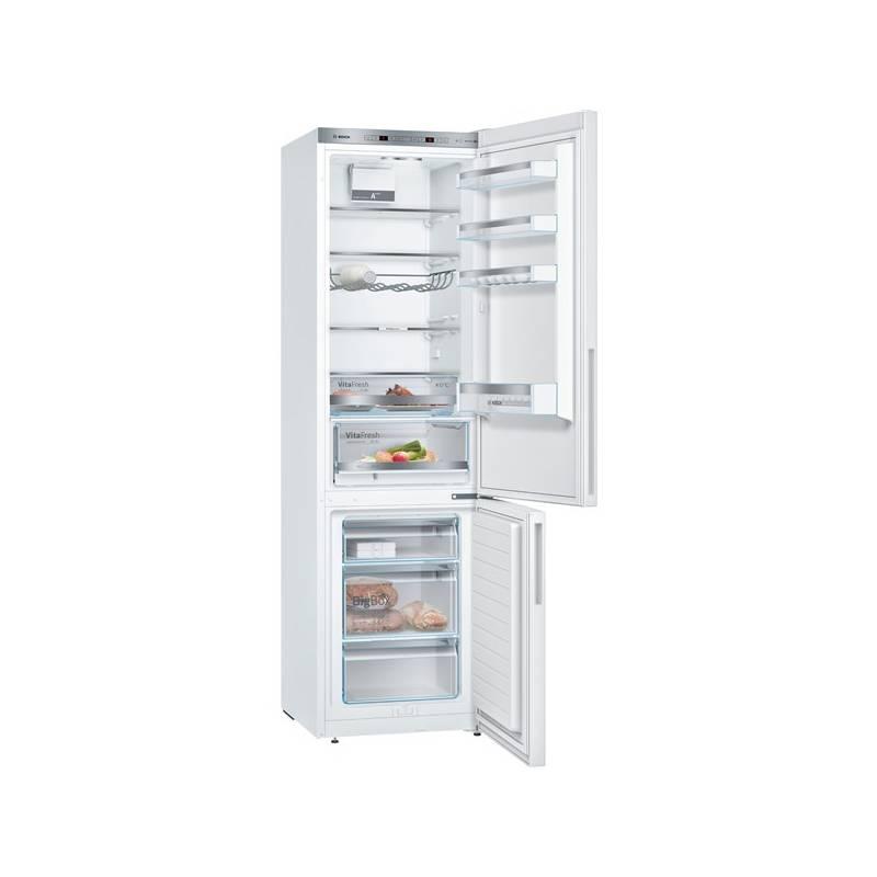 Kombinácia chladničky s mrazničkou Bosch KGE39VW4A biela + Doprava zadarmo