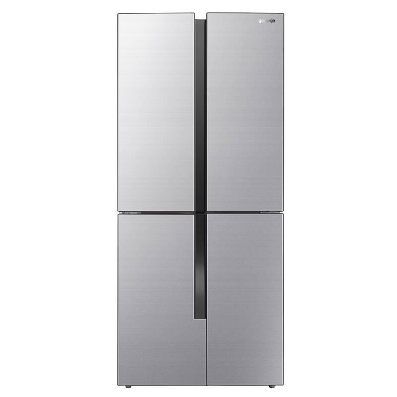 Americká lednice Gorenje NRM8181MX Inoxlook